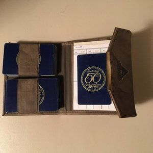 Delta Other - Delta Airlines 50th Anniversary Card Set & Case